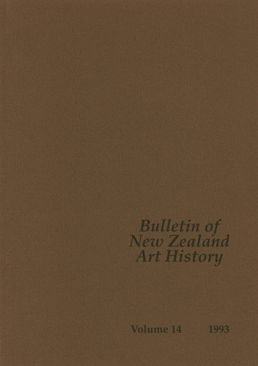 Bulletin of New Zealand Art History