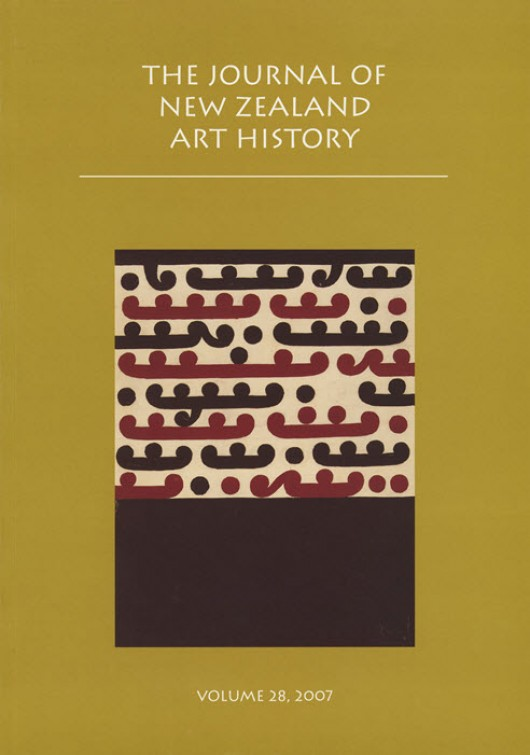 Journal of New Zealand Art History