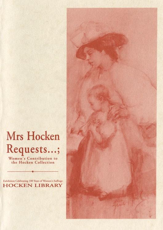Mrs Hocken Requests...