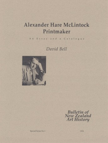 Alexander Hare McLintock, Printmaker