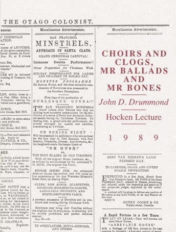 Choirs and Clogs, Mr Ballads and Mr Bones
