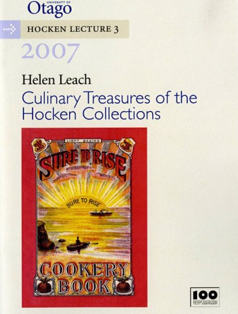 Culinary Treasures of the Hocken Collections