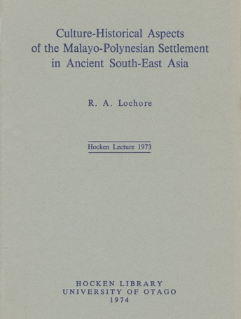 Cultural-Historical Aspects of the Malayo-Polynesian Settlement in Ancient South-East Asia