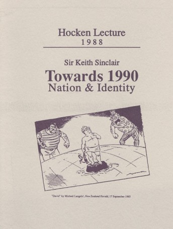 Towards 1990: Nation and Identity